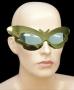 Óculos Borboleta Metalizado