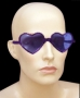 Óculos Coração Metalizado