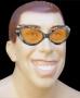 Óculos Gatão Metalizado